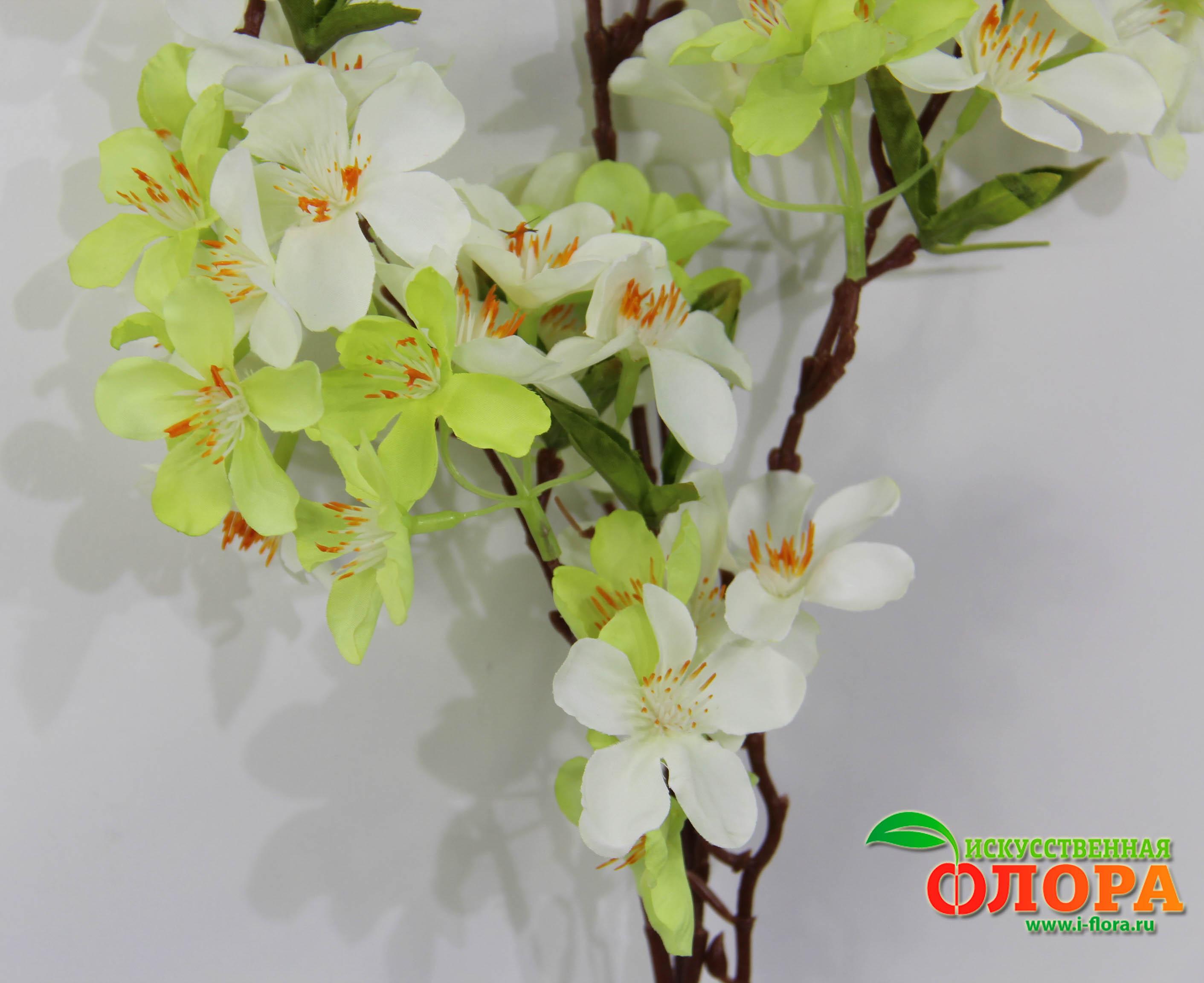 Как сделать ветку цветущей яблони своими руками